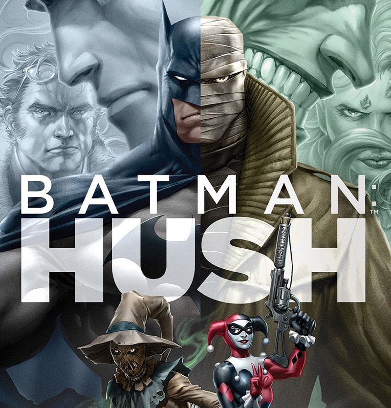Coloring With The Cast Batman Hush Voice Actors Review Nation